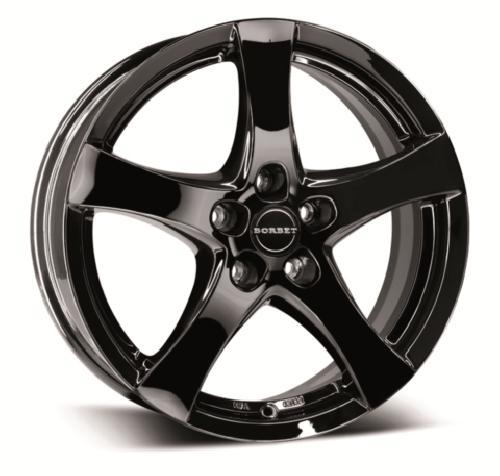 Opel Astra velg zwart Borbet