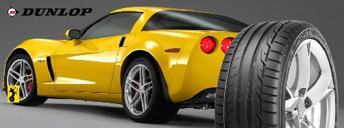 Dunlop onder corvette