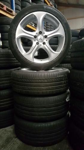 gebruikte set origineel Mercedes DEMO breedset