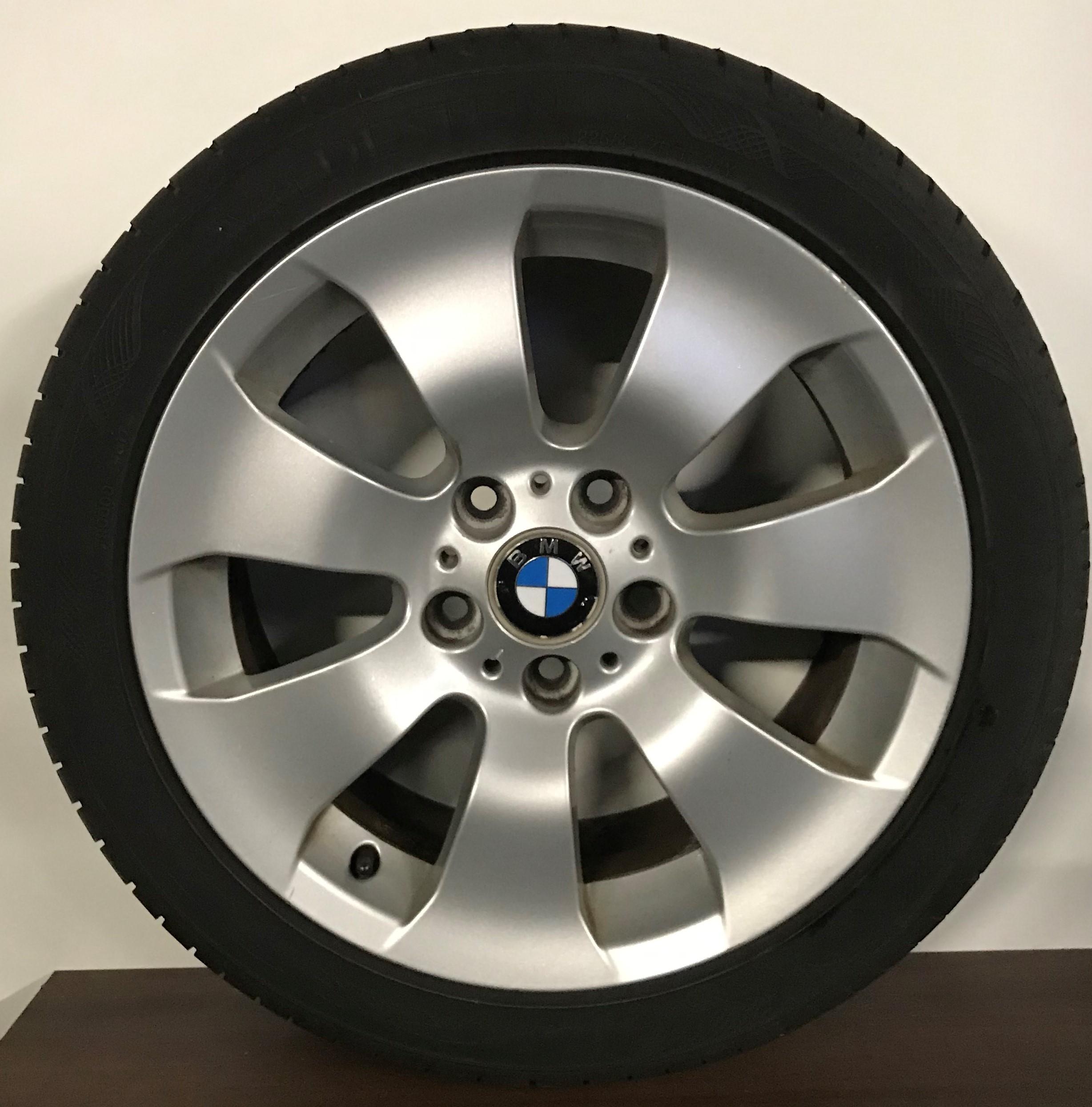 gebruikte set BMW 17 inch
