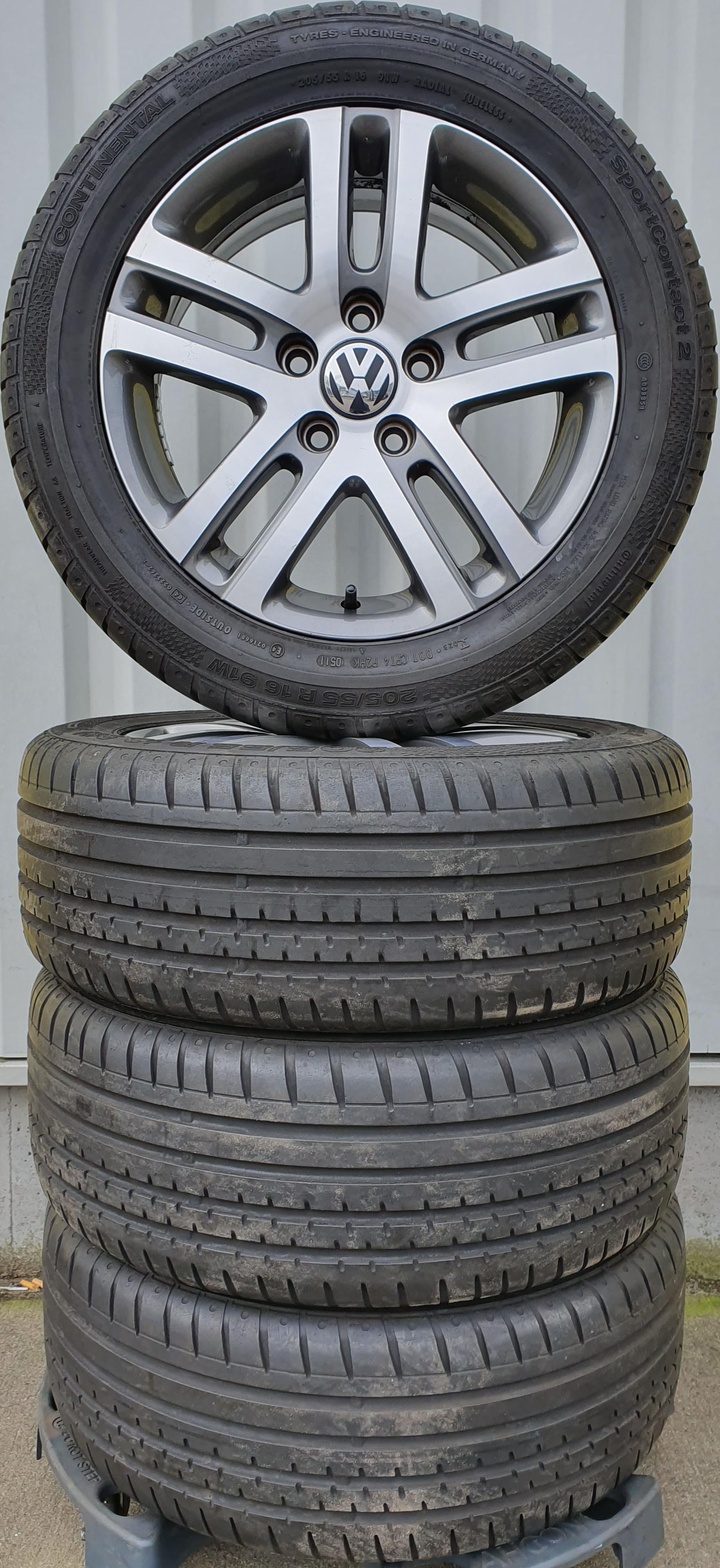 gebruikte set Volkswagen 16 inch Lm